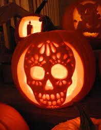 Drilled Jack O Lantern Patterns by Best 25 Sugar Skull Pumpkin Ideas On Pinterest Skull Pumpkin