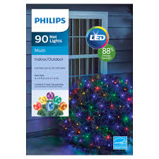 Ge 75 Ft Christmas Trees by Lightshow Christmas Starry Night Net Light Multi Colored