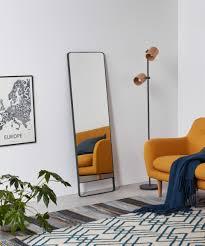 arles spiegel 48 x 160 cm schwarz