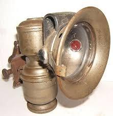 Calcium Carbide Bike Lamp by Vintage Antique Astral Bicycle Motorcycle Carbide Lamp Lantern
