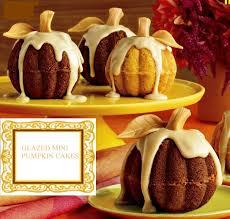 Nordic Ware Pumpkin Loaf Pan Recipe by Mini Pumpkins Use 6 Cup Mini Bundt Cake Pan Holidays Fall