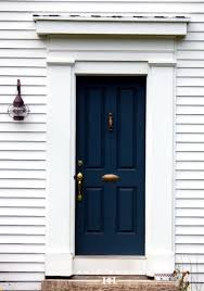 Navy Front Door Stupefy 27 Chic Dark Doors To Try For Your Entry