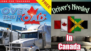 Truck Driver Jobs Needed In Canada 🇨🇦 Looking For Experience ... Truck Driving Jobs Board Cr England Entrylevel No Experience Cdl Driver Youtube How To Be A Safe Commercial Drive Celadon Local Job Description And Resume Template Instructor California And Cdl Otr Team Driver Jobs Truck Driving No Experience The Truth About Drivers Salary Or Much Can You Make Per Sales Lewesmr Trucking For Free Top 15 That Require Little