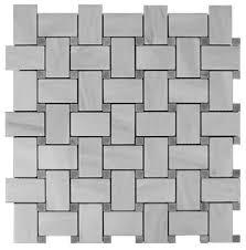 12 x12 carrara marble bianco basketweave tile bardiglio gray