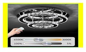 jdong hochwertige led kristall deckenleuchte deckenle 36w