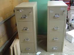 Shaw Walker Fireproof File Cabinet Asbestos by Fireproof File Cabinet Fireking Four Drawer Putty Fireproof File