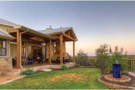Hill Country Fusion HWBDO75774 Ranch From BuilderHousePlans