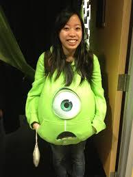 Mike Wazowski Pumpkin Carving Ideas by How To Make A Mike Wazowski Monster U0027s Inc Costume Creative Messes