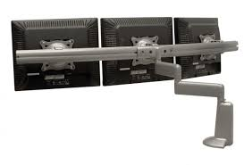 dual arm desk mount triple monitor kcd320s