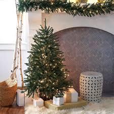 Hobby Lobby Pre Lit Led Christmas Trees by Slim Christmas Tree Classic Tabletop Lit Tree Ft Home Improvement
