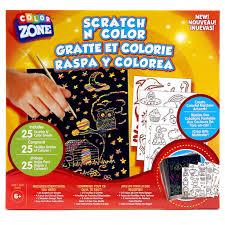 Michaels Art Desk Instructions by Color Zone Scratch N Color