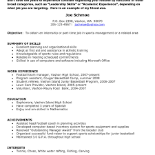 Sample Of Resume For Part Time Job By Student Site Architect Resume