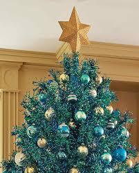 Christmas Tree Toppers Unique by Martha U0027s Glittered Star Tree Topper Martha Stewart