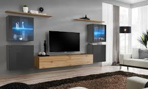 krak möbel tv lowboard hochglanz weiß weiss 160cm wohnzimmer
