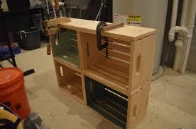 wooden crate bookcase u2013 craftbnb