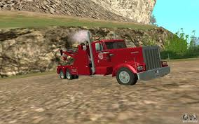 100 Kenworth Tow Truck Truck For GTA San Andreas