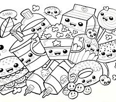 Kawaii Coloring Pages Best Free Anime