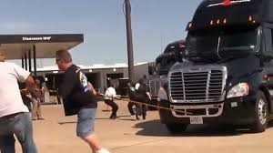 Stevens Transport Truck Pull! Driver Appreciation Days 2013 - YouTube