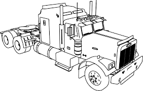 Collection Of Truck Coloring Pages Online | Download Them And Try To ...