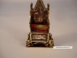 King Edward V11 Chair by King Edward Vii Chair 1910 Levi Salaman Sterling Silver King