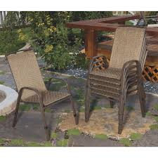 Stackable Outdoor Sling Chairs by Outdoor Expressions Greenville Stack Chair Tjf T014 Do It Best