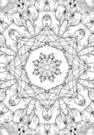 Download Coloring Pages Free Abstract Stress Relief Printable