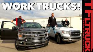 What's The Best Work Truck? Ford XLT Vs Ram Tradesman Unfiltered ... 5 Best Used Work Trucks For New England Bestride Top 10 Coolest We Saw At The 2018 Truck Show Offroad F150 Wins Kelley Blue Book Pickup Truck Buy Award What Ever Happened To Affordable Pickup Feature Car Fullsize Pickups A Roundup Of Latest News On Five 2019 Models Commercial Vans St George Ut Stephen Wade Cdjrf Cant Afford Fullsize Edmunds Compares Midsize Trucks Trends 2012 In Class Trend Magazine For Sale In Mcdonough Georgia Bought A Military So You Dont Have To Outside Online Towingwork Motor Gmc Redesign Review