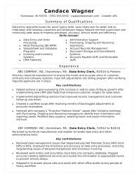 Typing Skills Resume Examples Archives