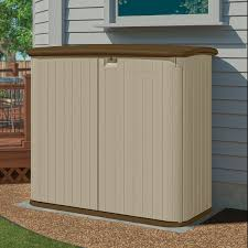 Suncast Cascade Shed 4 X 7 by Outside Storage Shed Rubbermaid Plastic Horizontal Outdoor