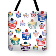 Fairy Cakes Tote Bags