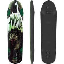 Types Of Longboard Decks by Madrid Nessie Longboard Skateboard Deck W Grip Muirskate Com