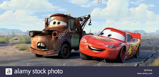 100 Lightning Mcqueen Truck MATER THE TOW TRUCK LIGHTNING MCQUEEN CARS 2006 Stock Photo