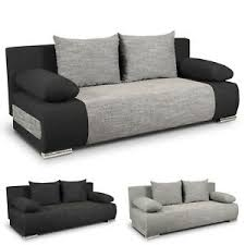 sofa mit schlaffunktion und bettkasten günstig kaufen ebay