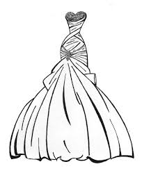 Coloring Pages For Girls With Dresses