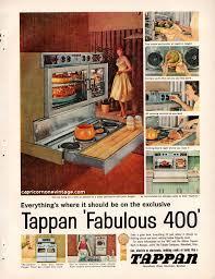 Vintage 1959 Tappan Oven Magazine Ad Fabulous 400 Kitsch 1950s Advertising Retro Kitchen Decor Collect Frame