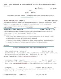 Incomplete Education On Resume Degree Requiring Additional 2 Training