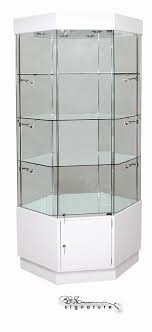 a5501 cswc corner wooden display cabinets showca
