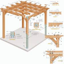 12x12 Floating Deck Plans by Pergola Plans How To Build Your Own Pergola 3d Animation