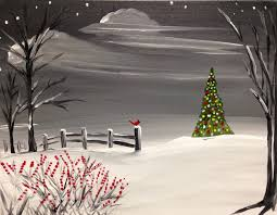 Lone Silo Christmas Tree Farm by Paint Nite Drink Paint Party We Host Painting Events At Local