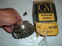 1948 50 52 54 56 58 60 62 Chevrolet Truck Transmission 3rd Gear 3840045