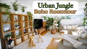 roomtour jungle room makeover vorher nachher wohnzimmer boho ikea ideen mamiseelen