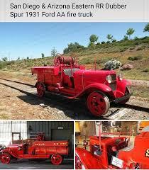 100 31 Ford Truck 19 Model AA RailRoad Firetruck 1928 AA 1932
