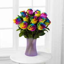 How Are Rainbow Roses Produced