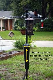 Best Squirrel Proof Bird Feeder Pole System & Baffle