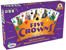 Best Board Games For Groups Five Crowns