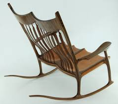 sam maloof rocking chair class sam maloof rocking chair in wood