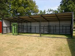Loafing Shed Kits Texas by Sheds Portable Livestock Shelters Calving And Loafing Sheds And