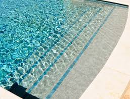 pools with trim tile on steps residential swimming pool tile
