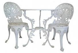 Wilson Fisher Patio Furniture Set by Cast Iron Patio Furniture Sets Foter