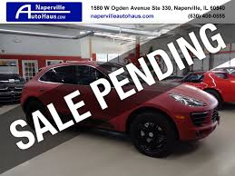 100 Drs Truck Sales 2015 Used Porsche Macan AWD 4dr S At Naperville Auto Haus IID 17896447